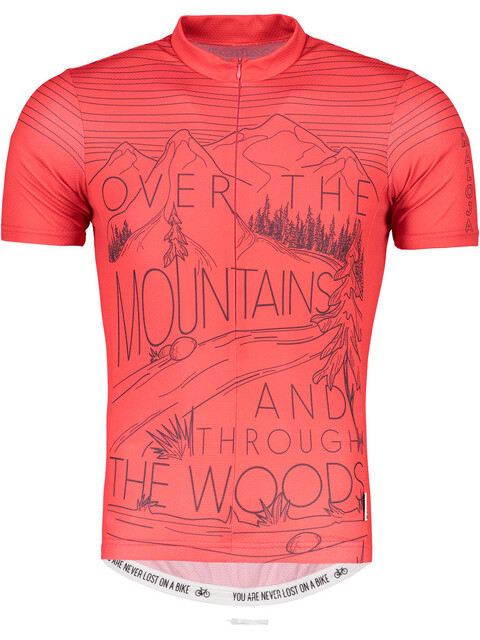 Maloja SentM. - Maillot manches courtes Homme - rouge